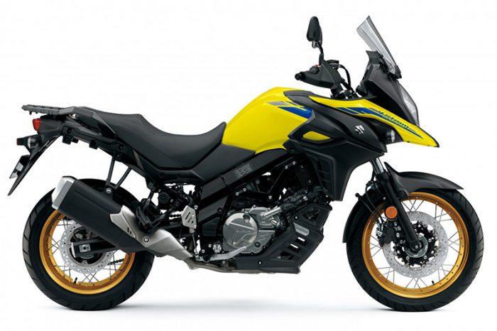 2021 V Strom 650XT Champion Yellow