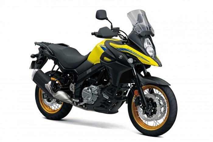 2021 V Strom 650XT Champion Yellow uk