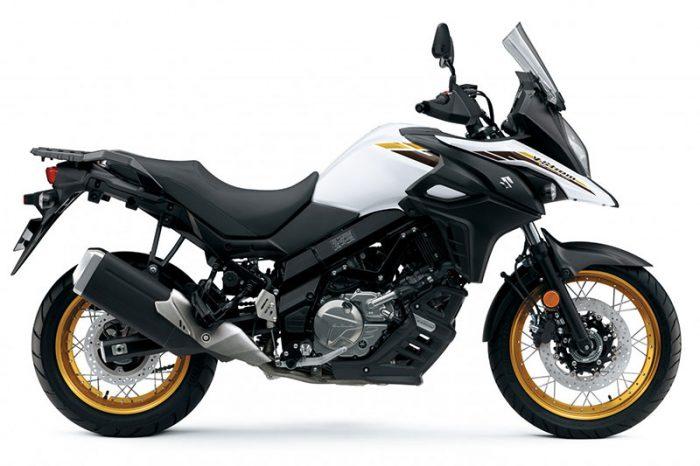 2021 suzuki V Strom 650XT white