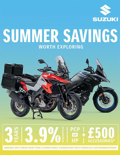 2021 suzuki bikes uk offer