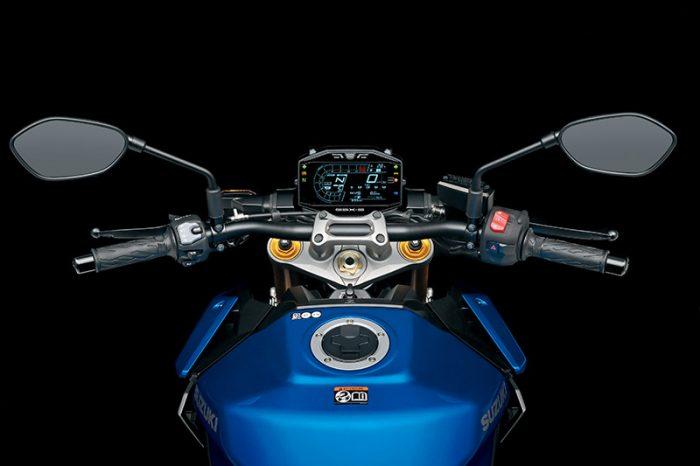 GSX S1000 M2 Cockpit