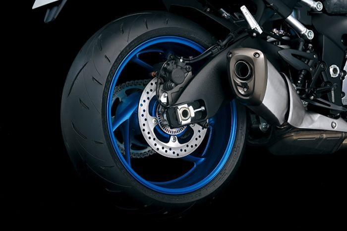 GSX S1000 M2 Rear Tire Wheel