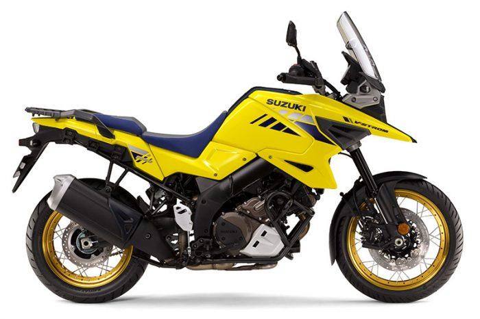 V Strom 1050 suzuki yellow