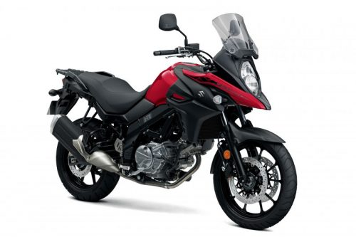 V Strom 650a candy darling red