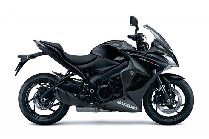 gsx s1000f suzuki black
