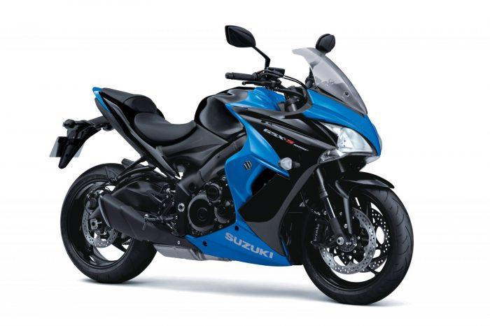 gsx s1000f suzuki blue
