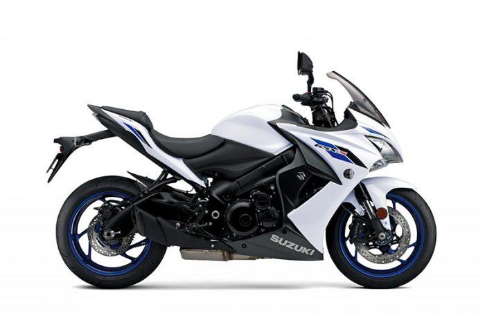 gsx s1000f suzuki white