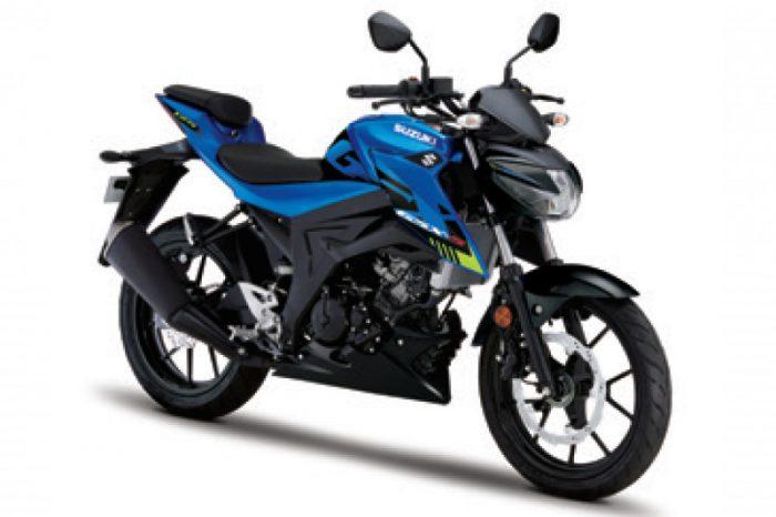gsx s125 suzuki 2021 blue uk