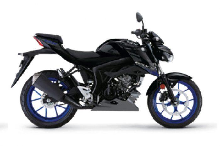 gsx s125 suzuki black 2021