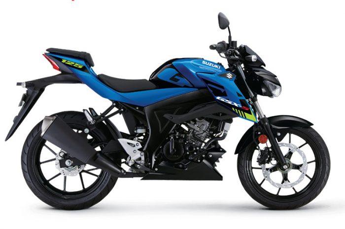 gsx s125 suzuki blue 2021