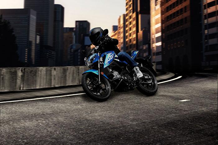 gsx s125 suzuki motorbike 2021