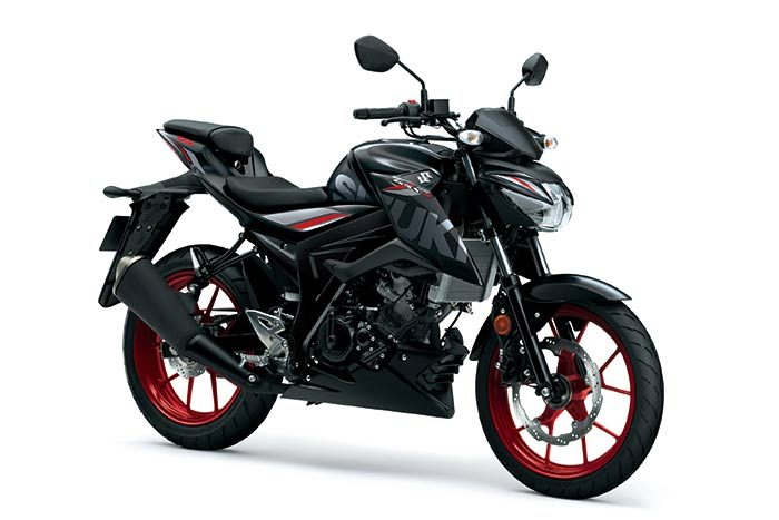 2019 london suzuki gsxs 125 motorbike