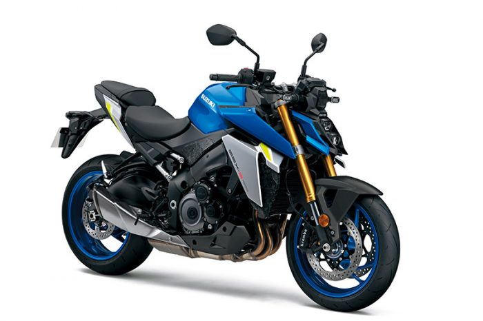 susuki gsx s1000 2021 blue