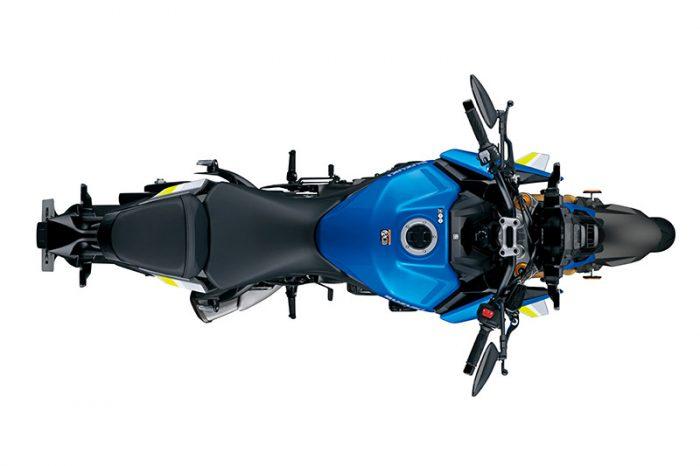 susuki gsx s1000 2021 blue top
