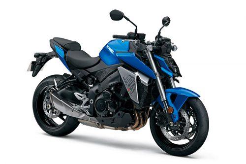 suzuki GSX S950 blue