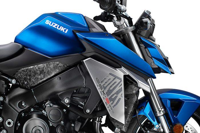 suzuki GSX S950 blue front