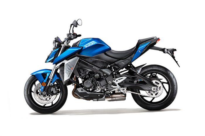 suzuki GSX S950 blue side