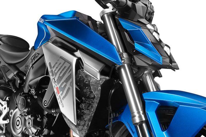suzuki GSX S950 blue styling