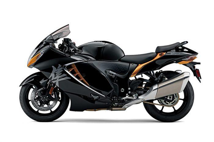 suzuki GSX1300 Hayabusa black
