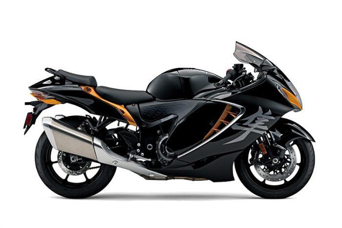 suzuki GSX1300R Hayabusa black