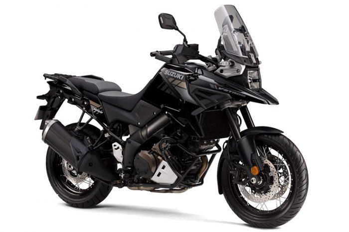 suzuki V Strom 1050 black