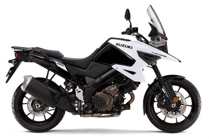 suzuki V Strom 1050 white 2020