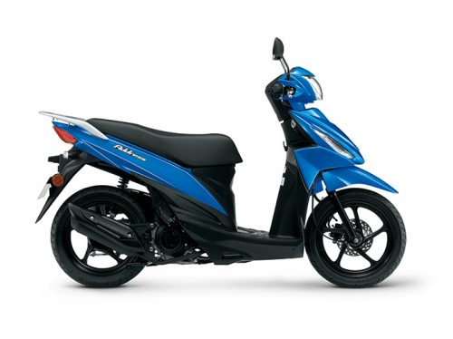 suzuki address 100 scooter 2019