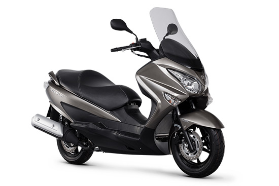 suzuki bergman 125cc scooter