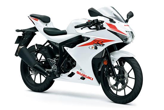 suzuki gsx r125 motorbike