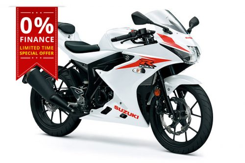 suzuki gsx r125 new offer