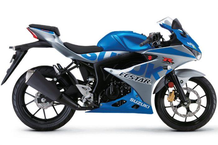 suzuki gsx r125 2021 blue
