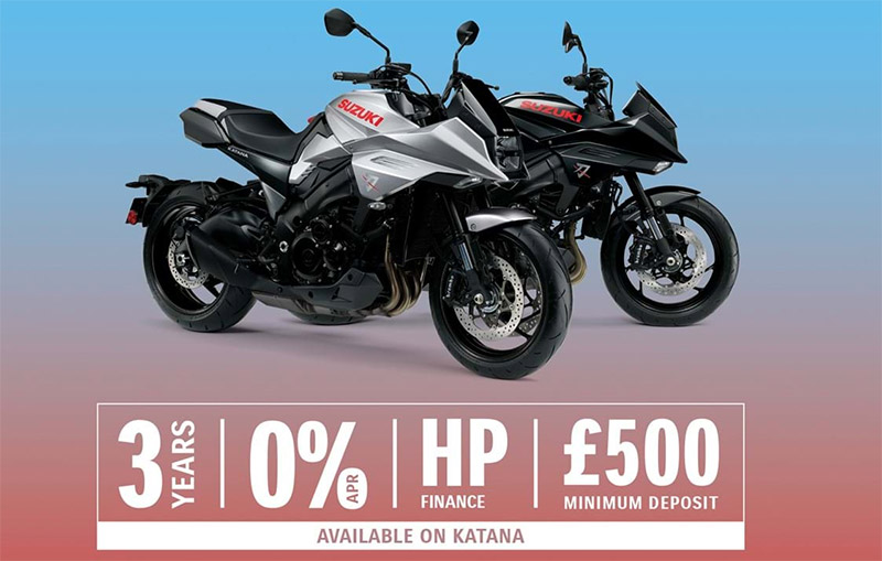 suzuki katana 0% finance offer