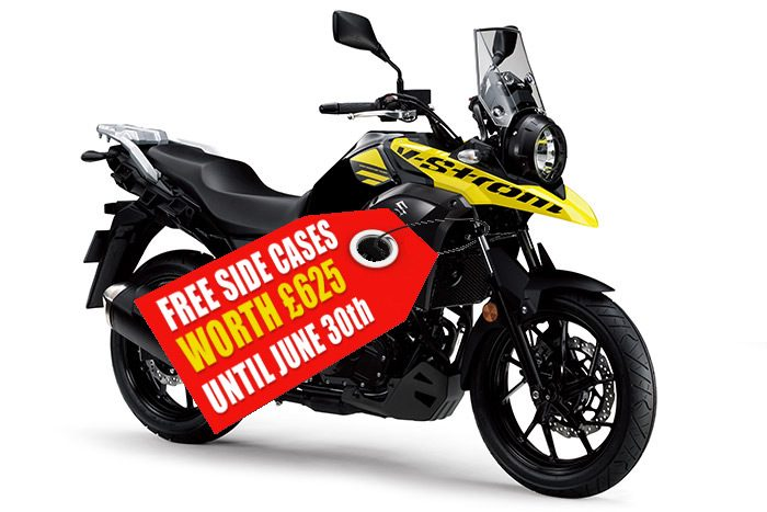 suzuki v-strom 250 touring bike offer