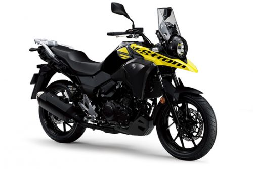 suzuki v strom 250 touring bike