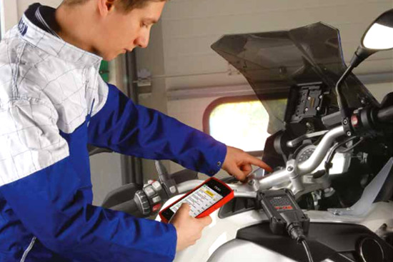 texa bike diagnostic equipment services